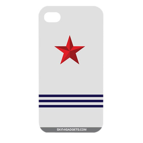 Star Strips For APPLE IPHONE 4 Designer CASE