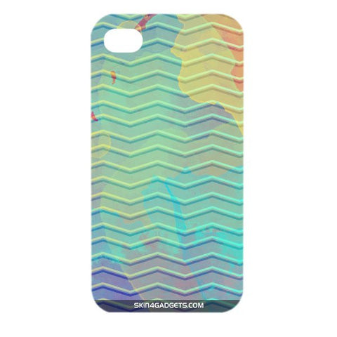 Colourful Waves For APPLE IPHONE 4 Designer CASE