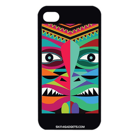 Tribal Face For APPLE IPHONE 4 Designer CASE