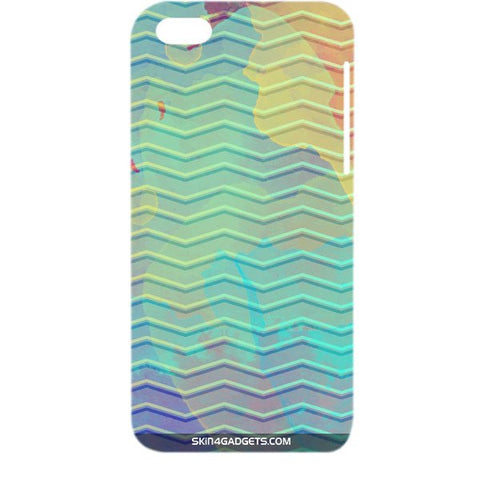 Colourful Waves For APPLE IPHONE 5C Designer CASE