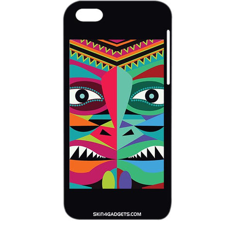 Tribal Face For APPLE IPHONE 5C Designer CASE
