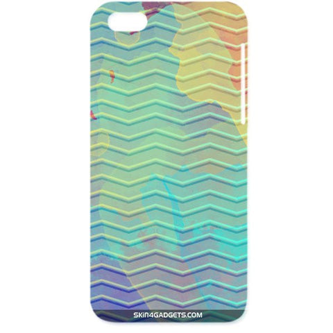 Colourful Waves For APPLE IPHONE 6 PLUS Designer CASE