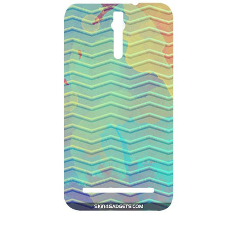 Colourful Waves For ASUS ZENFONE 2 Designer CASE