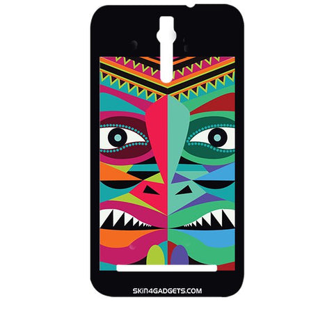 Tribal Face For ASUS ZENFONE 2 Designer CASE