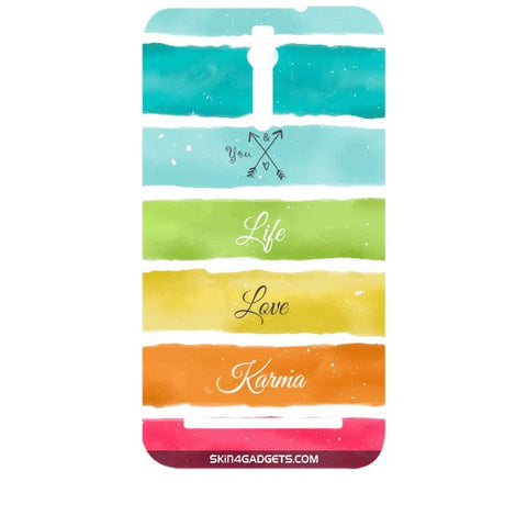 Lets Love Life For ASUS ZENFONE 2 Designer CASE