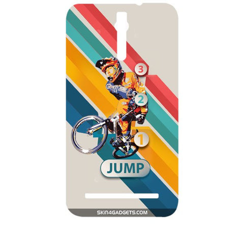 1 2 3 Jump For ASUS ZENFONE 2 Designer CASE