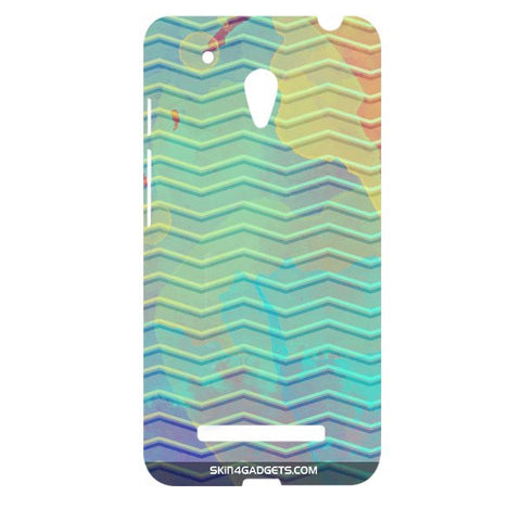 Colourful Waves For ASUS ZENPONE 5 Designer CASE