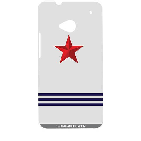 Star Strips For HTC ONE M7 Designer CASE