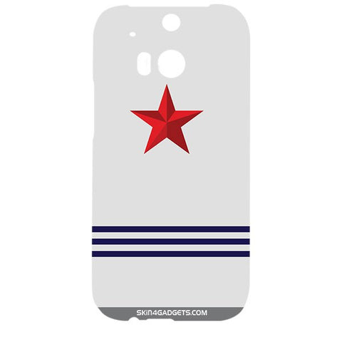 Star Strips For HTC ONE M8 Designer CASE