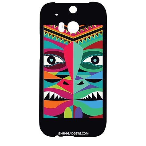 Tribal Face For HTC ONE M8 Designer CASE