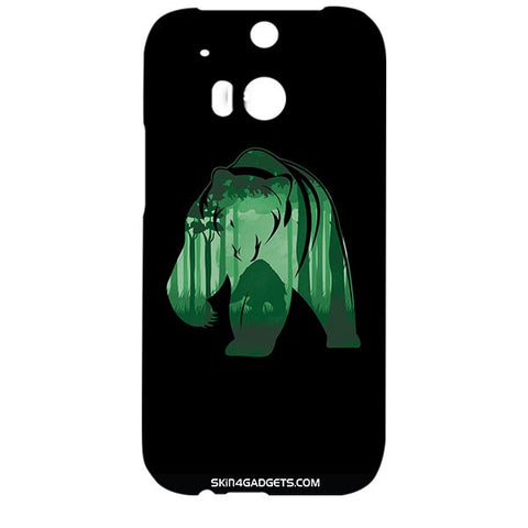 Bear For HTC ONE M8 Designer CASE