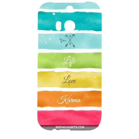 Lets Love Life For HTC ONE M8 Designer CASE