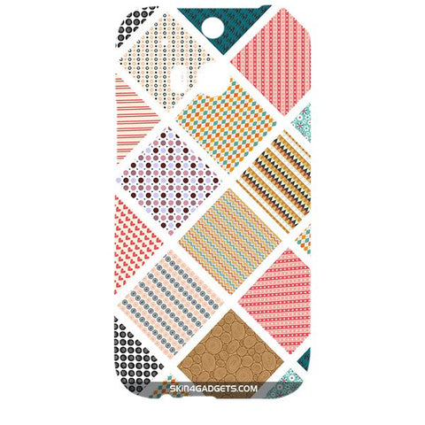 Varied Pattern For HTC ONE M8 Designer CASE
