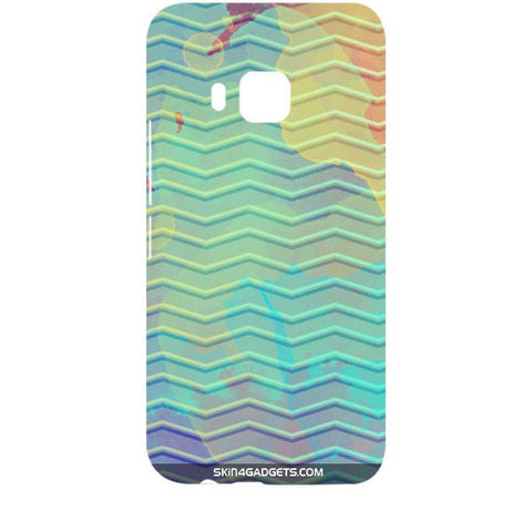 Colourful Waves For HTC ONE M9 Designer CASE