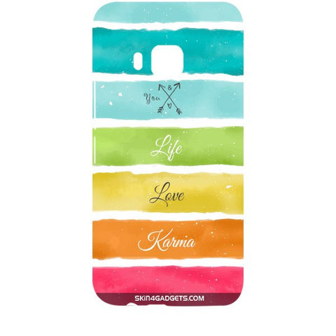 Lets Love Life For HTC ONE M9 Designer CASE