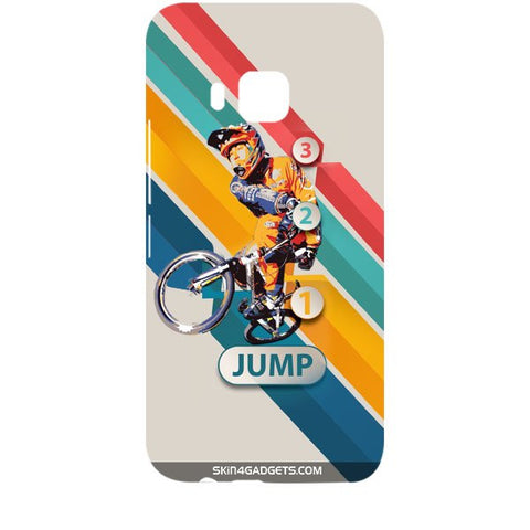 1 2 3 Jump For HTC ONE M9 Designer CASE