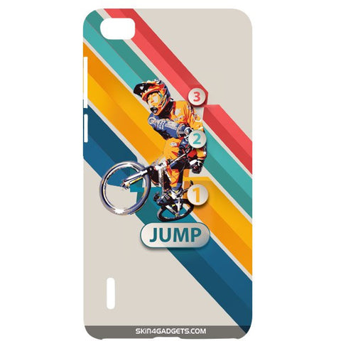 1 2 3 Jump For HUAWEI HONOR 6 Designer CASE