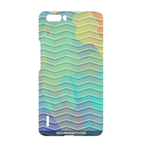 Colourful Waves For HUAWEI HONOR 6x Designer CASE
