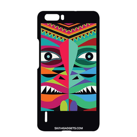Tribal Face For HUAWEI HONOR 6x Designer CASE