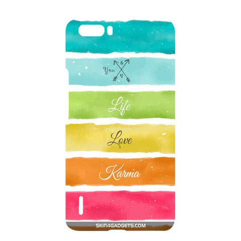 Lets Love Life For HUAWEI HONOR 6x Designer CASE
