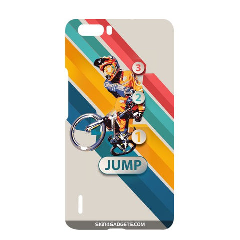 1 2 3 Jump For HUAWEI HONOR 6x Designer CASE