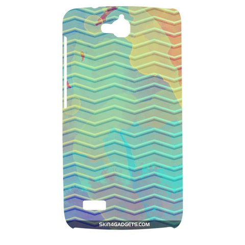 Colourful Waves For HUAWEI HONOR HOLLY Designer CASE