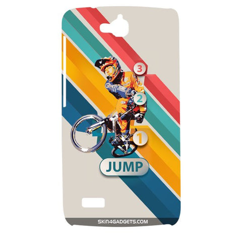 1 2 3 Jump For HUAWEI HONOR HOLLY Designer CASE