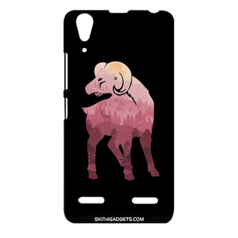 Mountain Goat For LENOVO A6000 Designer CASE