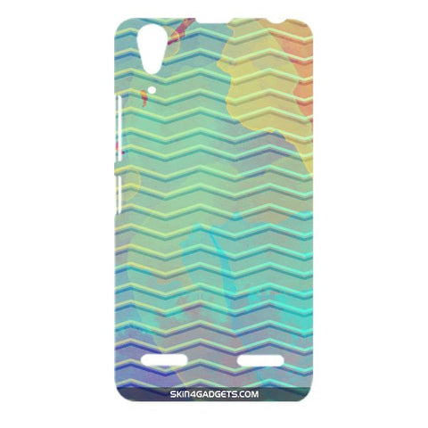 Colourful Waves For LENOVO A6000 Designer CASE