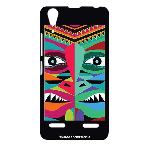 Tribal Face For LENOVO A6000 Designer CASE