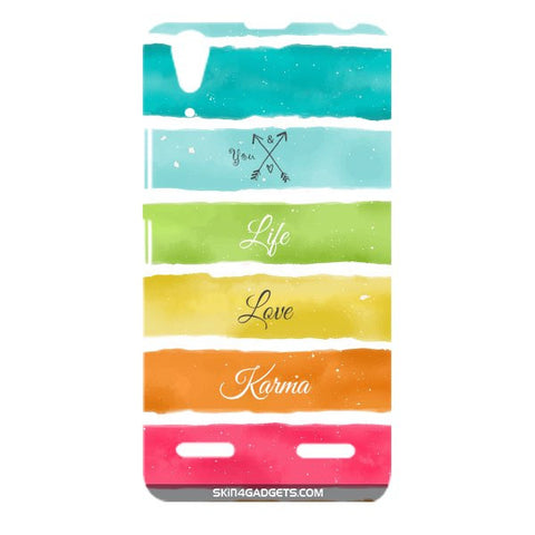 Lets Love Life For LENOVO A6000 Designer CASE