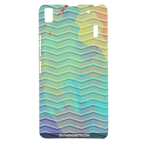 Colourful Waves For LENOVO A7000 Designer CASE