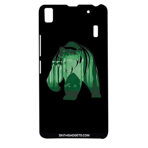Bear For LENOVO A7000 Designer CASE