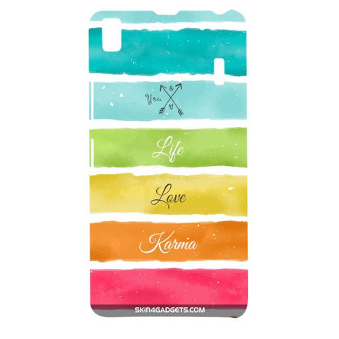 Lets Love Life For LENOVO A7000 Designer CASE