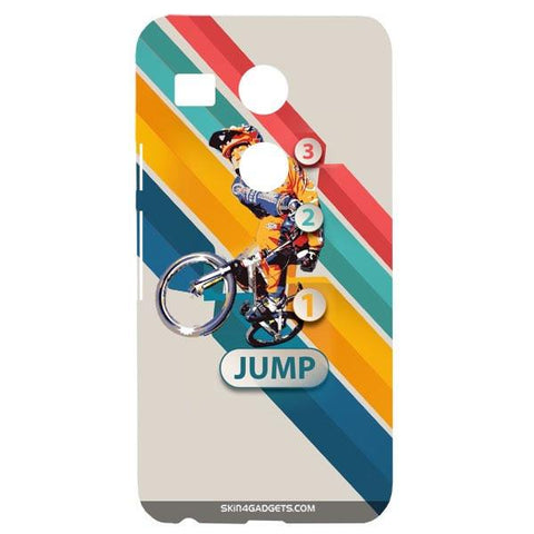 1 2 3 Jump For GOOGLE NEXUS 5X Designer CASE