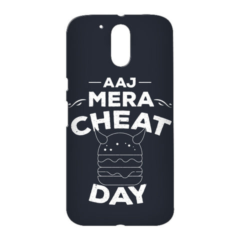 Aaj Mera Cheat Day for Motorola Moto G4 Plus designer case