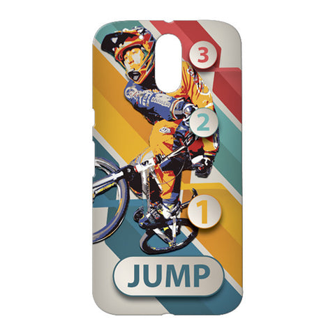 1 2 3 Jump for Motorola Moto G4 Plus designer case
