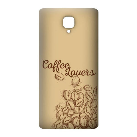Coffee Lover For OnePlus 3 Designer CASE