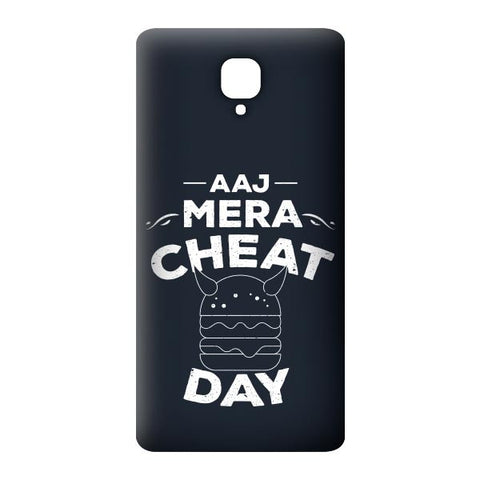 Aaj Mera Cheat Day For OnePlus 3 Designer CASE