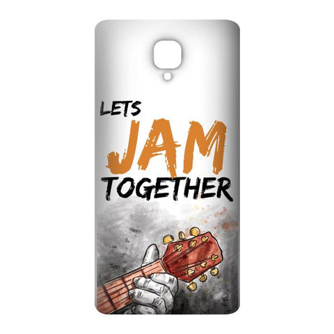 Lets Jam Together For OnePlus 3 Designer CASE