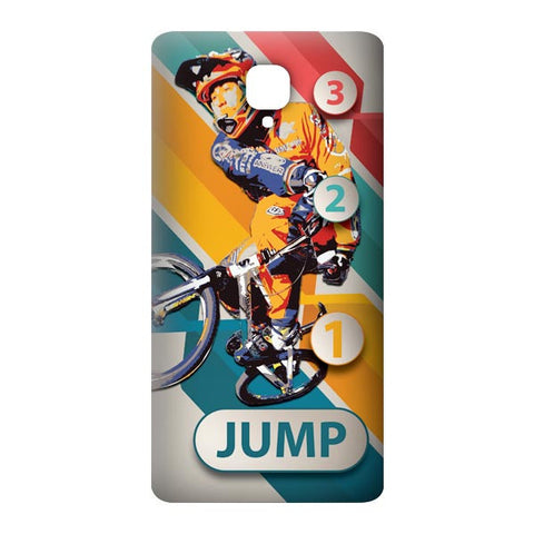 1 2 3 Jump For OnePlus 3 Designer CASE