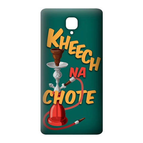 Kheech na Chote For OnePlus 3 Designer CASE