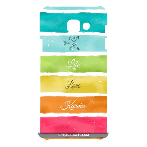 Lets Love Life For SAMSUNG GALAXY A7 (A700) Designer CASE