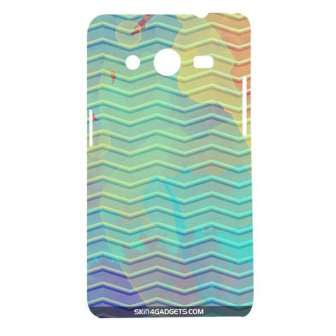 Colourful Waves For SAMSUNG GALAXY CORE 2 (G3556d) Designer CASE