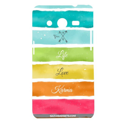 Lets Love Life For SAMSUNG GALAXY CORE 2 (G3556d) Designer CASE