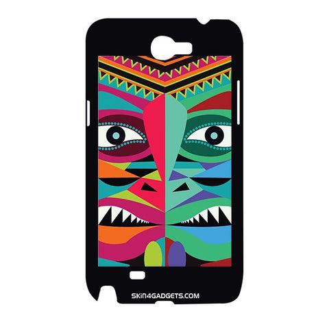 Tribal Face For SAMSUNG GALAXY NOTE 2 (N7100) Designer CASE
