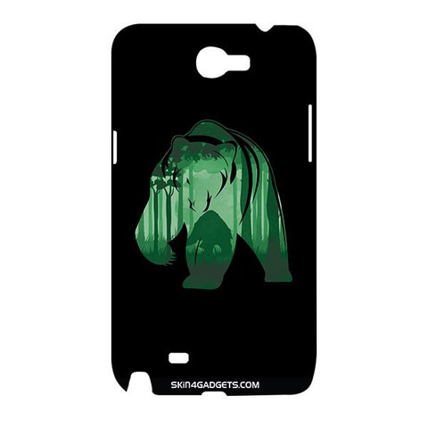 Bear For SAMSUNG GALAXY NOTE 2 (N7100) Designer CASE