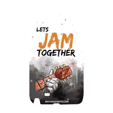 Lets Jam Together For SAMSUNG GALAXY NOTE 2 (N7100) Designer CASE