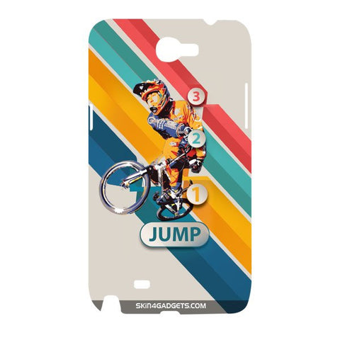1 2 3 Jump For SAMSUNG GALAXY NOTE 2 (N7100) Designer CASE