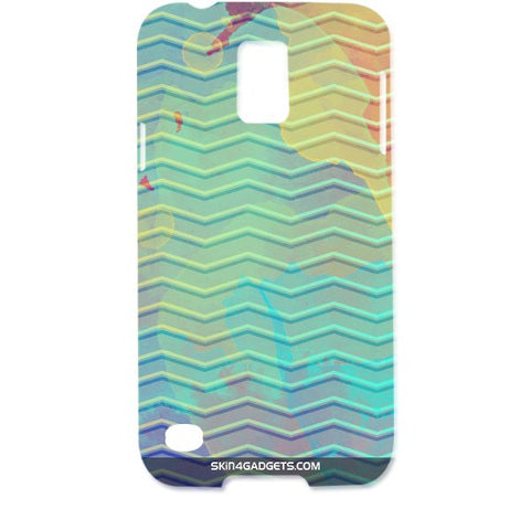 Colourful Waves For SAMSUNG GALAXY S5 Designer CASE